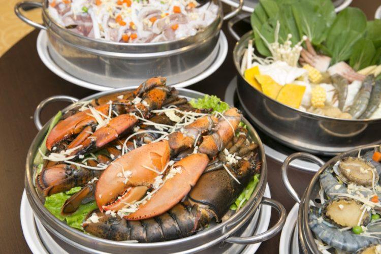 蒸食在|嘉義餐廳推薦,超澎湃海鮮塔,美味不藏私,天然就是最好的調味料