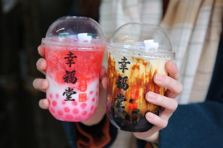 幸福堂|新竹美食 城隍爺請喝的黑糖珍珠奶,蛋糕菓子燒 黑糖珍珠牛奶專賣店