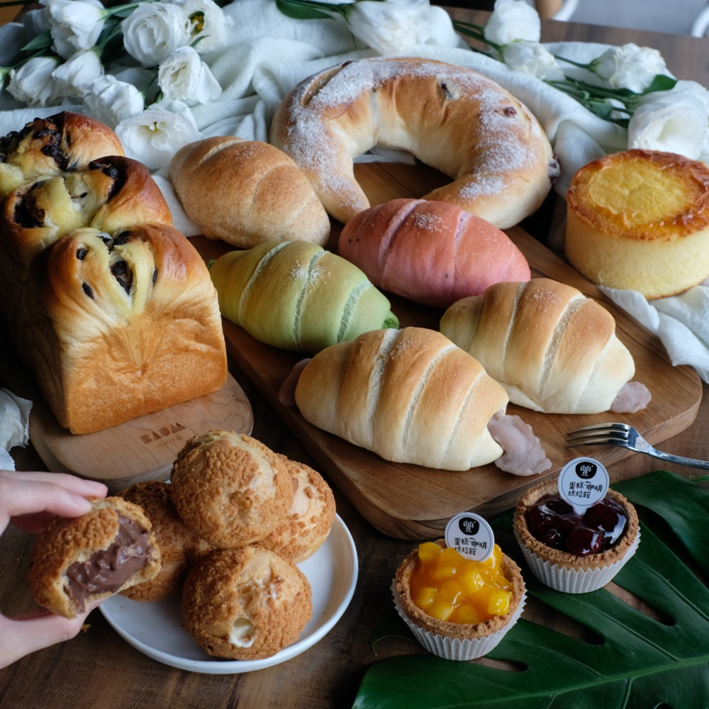 美食/桃園美食 超人氣「爆漿泡芙」在藝文特區!海鹽捲捲 蜂蜜岩燒蛋糕 還有免費黑咖啡!