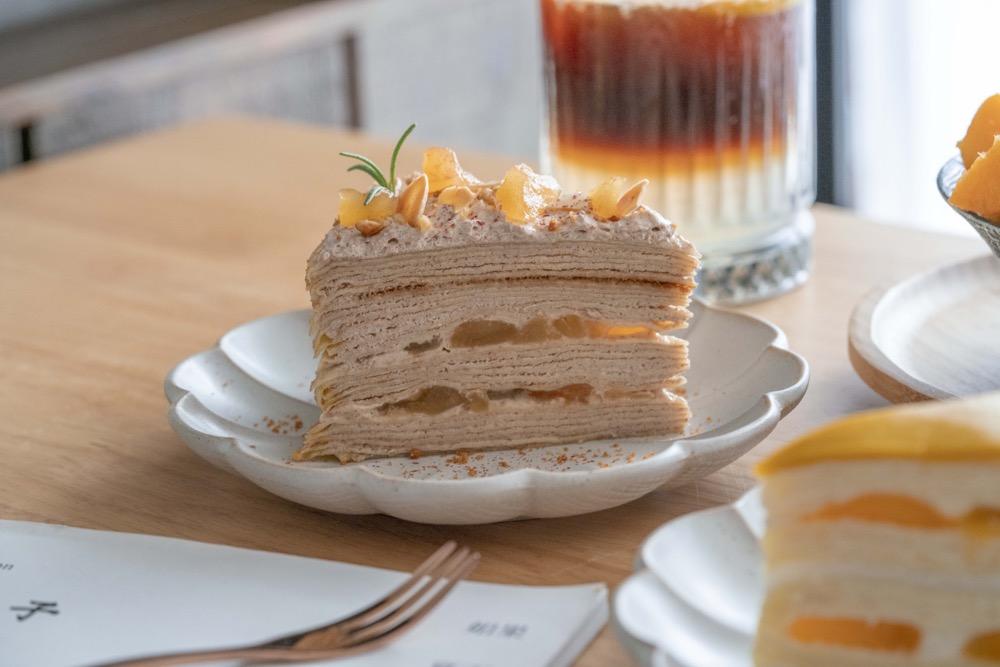 高雄甜點 先生千層 Ft. 冰屋博愛店 南台灣超人氣千層蛋糕,細緻口感一次體驗雙重享受